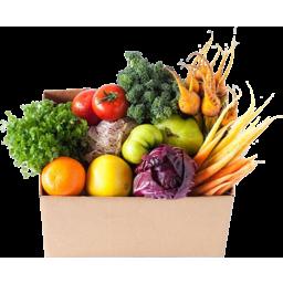 Photo of Organic Fruit & Veg Family Box $70