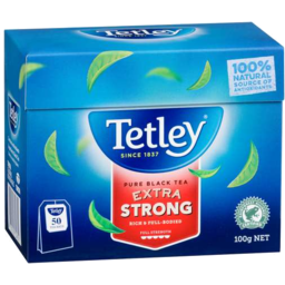 Photo of Tetley T/Bag Extra/Strong 50s