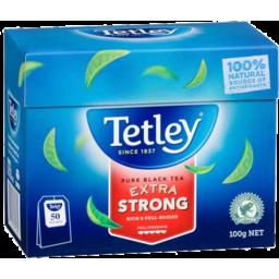 Photo of Tetley Extra Strong 50s Snap) 6x50