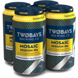 Photo of Two Bays Mosaic Session Ale 4pak