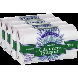 Photo of Cashmere Bouquet Soap Lavender 4pk 100g