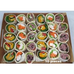 Photo of Wrap Mini Roast Beef, Tomato Chutney & Lettuce