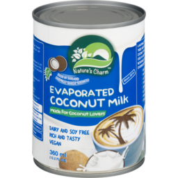 Photo of Nature's Charm Evaporated Coconut Milk