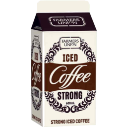 Photo of Farmers Union Strong Iced Coffee 600ml