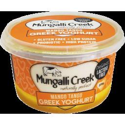 Photo of Mungalli Creek Yoghurt - Greek Style With Mango Tango