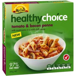 Photo of Mccain Healthy Choice Tomato & Bacon Penne 300gm