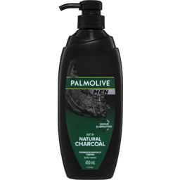 Photo of Palmolive Men Odour Eliminating Body Wash With Natural Charcoal Dermatologically Tested 450ml