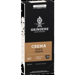 Photo of Grinders Crema Coffee Capsules 10x52g
