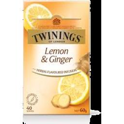 Photo of Twining Tea Bag Inf Lemon Ginger 40s