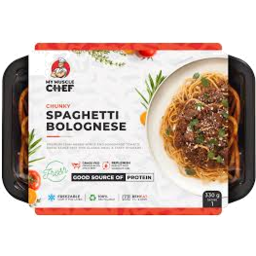 Photo of My Muscle Chef Spag Bol Chnky 330gm