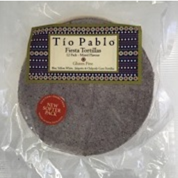 Photo of Tio Pablo Fiesta Tortillas 12 Pack Mixed Flavour