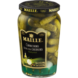 Photo of Maille Cornichons Extra Fine Gherkins Hand-Picked