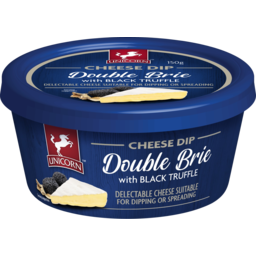 Photo of Unicorn Double Brie With Black Truffle Cheese Dip 150g