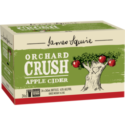Photo of James Squire Orchard Crush Apple Cider Stubbies