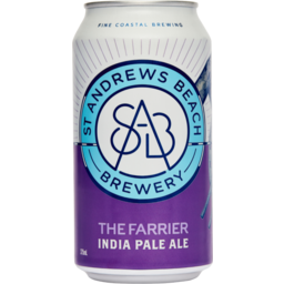 Photo of St Andrews Beach Brewery The Farrier IPA 375ml Slab