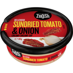 Photo of Zoosh Delizioso Sundried Tomato & Onion Creamy Dreamy Dip 185g