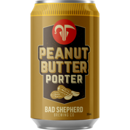 Photo of Bad Shepherd Peanut Butter Porter Can