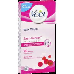 Photo of Veet Wax Strips Normal Skin Shea Butter & Berry 20pk