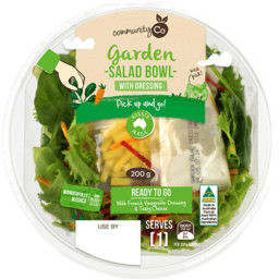Photo of Community Co Garden Salad Bowl 200g
