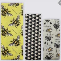 Photo of Wrap, Jumbo Beeswax - Bees
