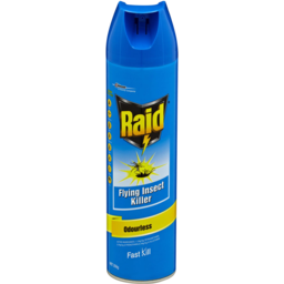 Photo of Raid Fly & Mosquito Killer Odourless Hypo Allergenic Fast Kill 350g