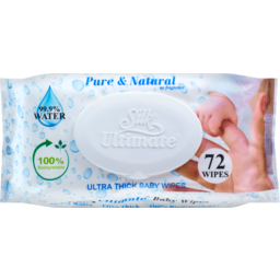 Photo of Silk Ultimate Baby Wipes 72 Pack