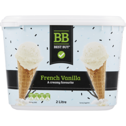 Photo of Best Buy Ice Cream French Vanilla 2l