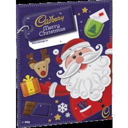 Photo of 90g Cadbury Christmas Advent Calendar