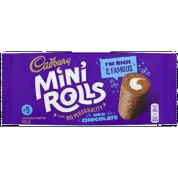 Photo of Cadbury Mini Rolls Milk Chocolate 5 Pack