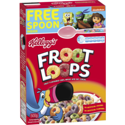 Photo of Kellogg's Cereal Fruit Loops (500g)