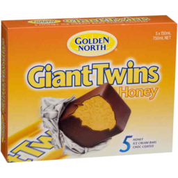 Photo of Golden North Giant Twins Honey  5 X 150ml