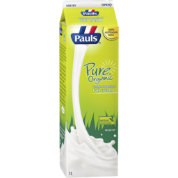 Photo of Pauls Pure Organic Milk 1l