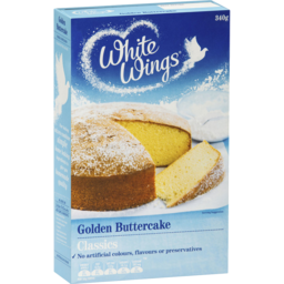 Photo of White Wings Golden Buttercake Cake Mix 340g