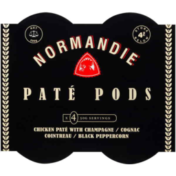 Photo of Normandie Pate Pods Mixed 50g X 4pk