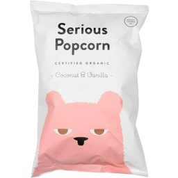 Photo of Serious Popcorn Coconut & Vanilla 80g