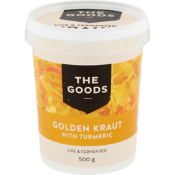 Photo of The Goods Golden Turmeric Kraut 500g