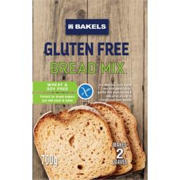 Photo of Bakels Gluten Free Bread Mix 700g