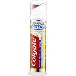 Photo of Colgate Fluoride Toothpaste Advanced Whitening Tartar Control Pump 130g 130g