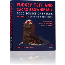Photo of Teff Fdge Cacao Brownie Mix 320gm