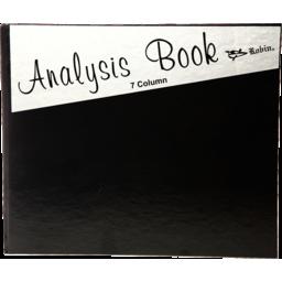 Photo of Analysis Book - 7 Column