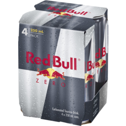 Photo of Red Bull Zero 4x250ml