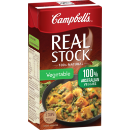 Photo of Campbell's Real Stock Vegetable Stock 500ml