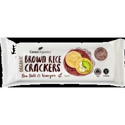 Photo of Ceres Organics Brown Rice Crackers - Salt & Vinegar