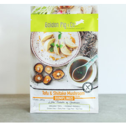 Photo of Golden Pig Dumplings Tofu & Shitake Mushroom