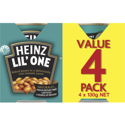 Photo of Heinz Baked Beans Pack 4x130g