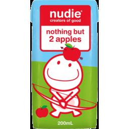 Photo of Nudie Nothing But 2 Apples Juice 200ml