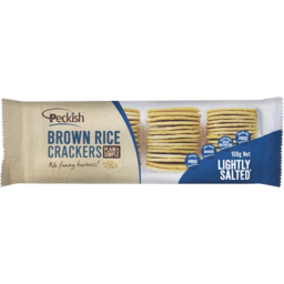 Photo of Peckish Lighty Salted Brown Rice Crackers 100g 100g