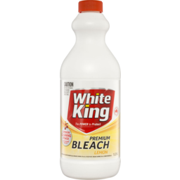 Photo of White King Premium Bleach Lemon 1.25l