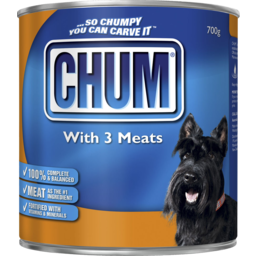 Photo of Chum 3 Meats 700g