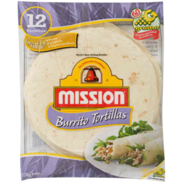 Photo of Mission Burrito Tortillas 12pk